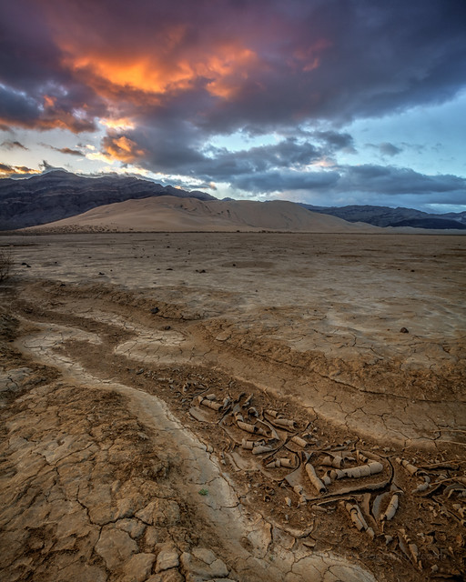 Dry Lake Bed Sunrise