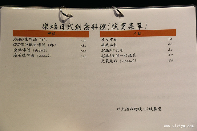 串燒,日式創意料理,桃園,樂燔,美食,蓋飯,西餐 @VIVIYU小世界