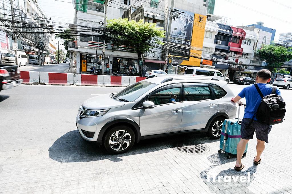 曼谷自由行工具 UBER叫车APP (13)