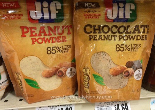 Jif Peanut Powder and Chocolate Peanut Powder