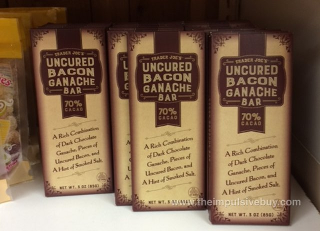 Trader Joe's Uncured Bacon Ganache Bar