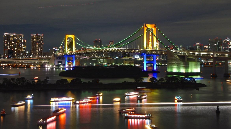 Tokyo Bay Grand Fireworks at Odaiba