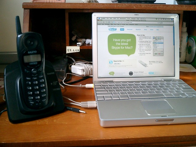 Wireless Skype Phone