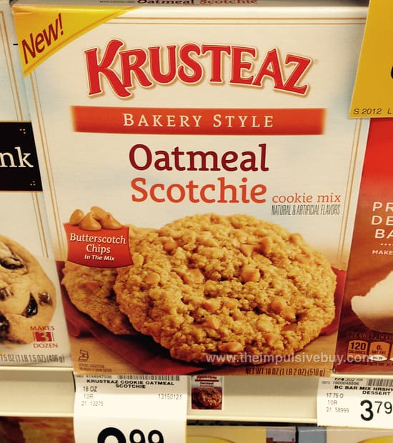 Krusteaz Bakery Style Oatmeal Scotchie Cookie Mix