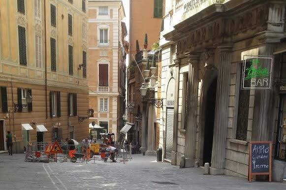 Salita Santa Caterina, protesta Confesercenti