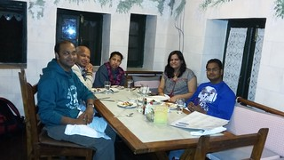 Dinner at Rokeby