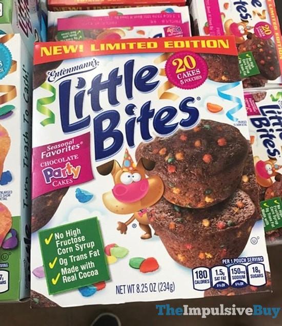 Entenmann's Limited Edition Seasonal Favorites Little Bites Chocolate Party Cakes