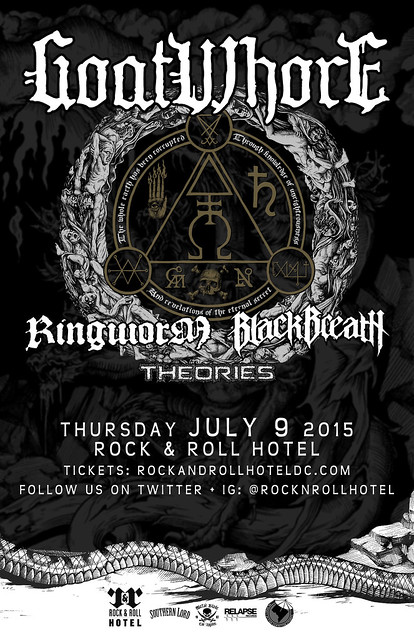 Goatwhore at Rock & Roll Hotel