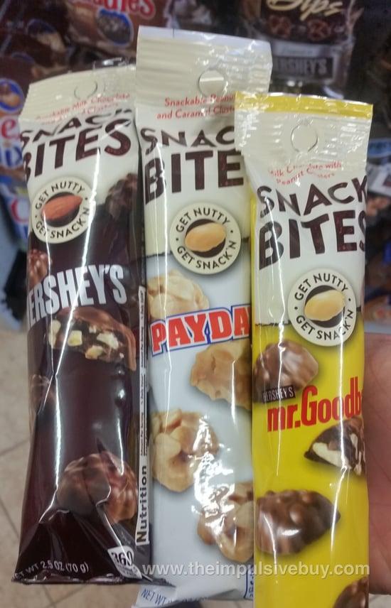 Hershey's, Payday, and Mr. Goodbar Snack Bites
