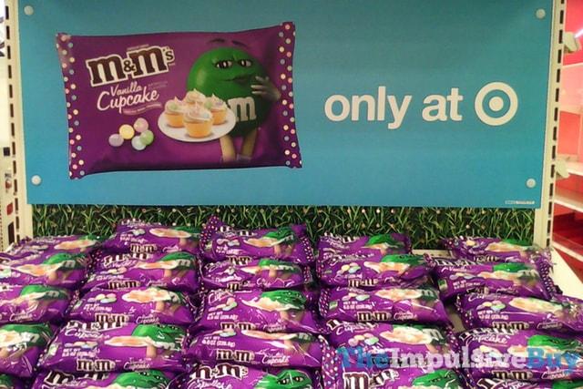 M&M's Vanilla Cupcake 2