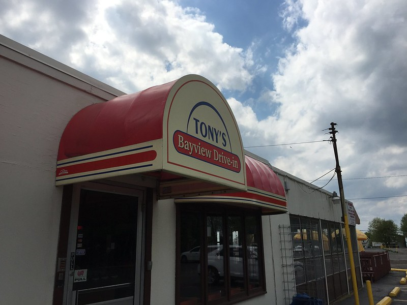 Tony's Bayview Drive-in (formerly Jim's, next to the former UAW union hall)