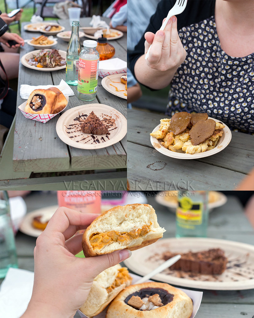 Many Foods from Bistro Vonish - Austin TX