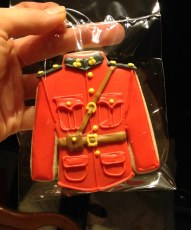 RCMP red coat