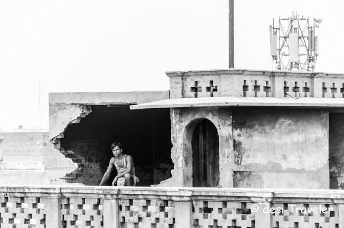 Bihari migrant labourer in Chandni Chowk Delhi 6