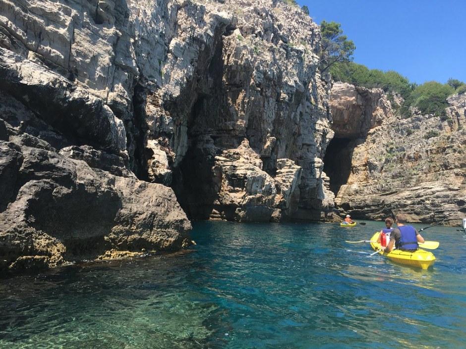 dubrovnik kayaking