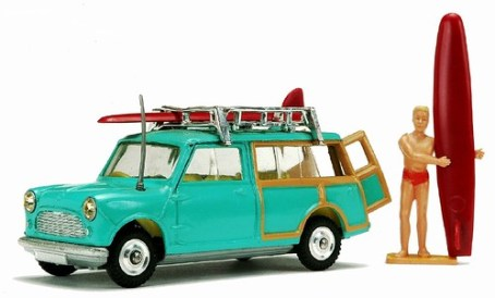 30 Corgi Mini Surfer