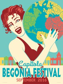 2016 - Begonias Around the World