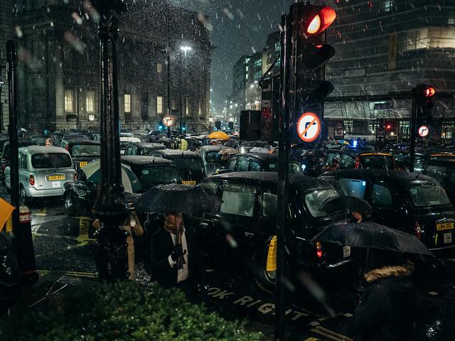 Black Cab Drivers Demo