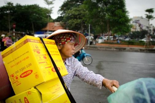 Street Vendor with Bike
