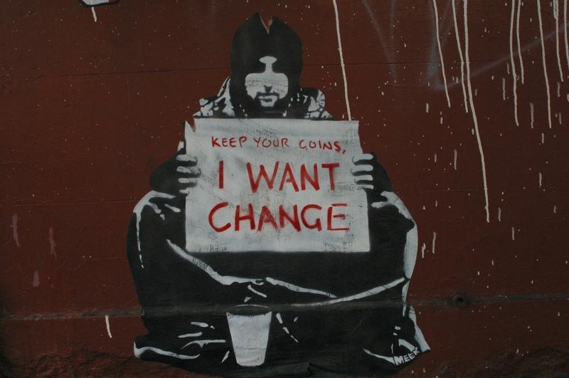 Keep Your Coins (Graffiti #18)