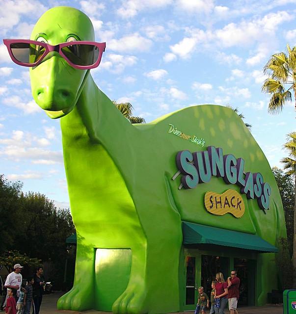 Dinosaur Jack's Sunglass Shack at Disney's California Adventure