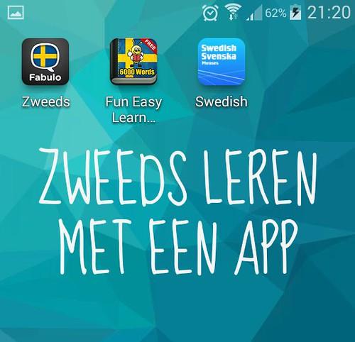 Zweeds leren met een app