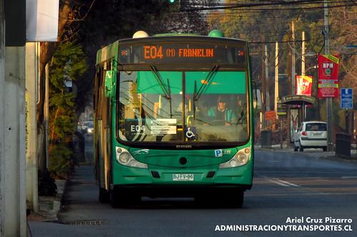 Transantiago - Buses Vule - Caio Mondego H / Mercedes Benz (BJFV86)