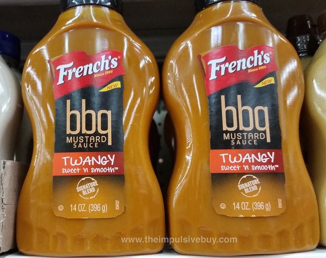 French's Twangy BBQ Mustard Sauce
