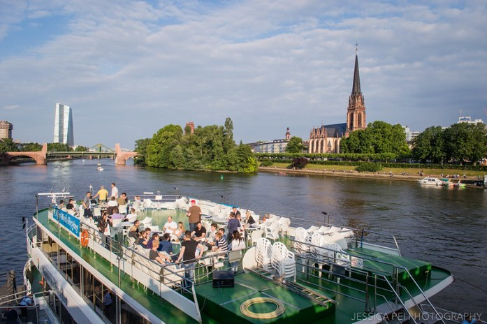 Main River Frankfurt Germany