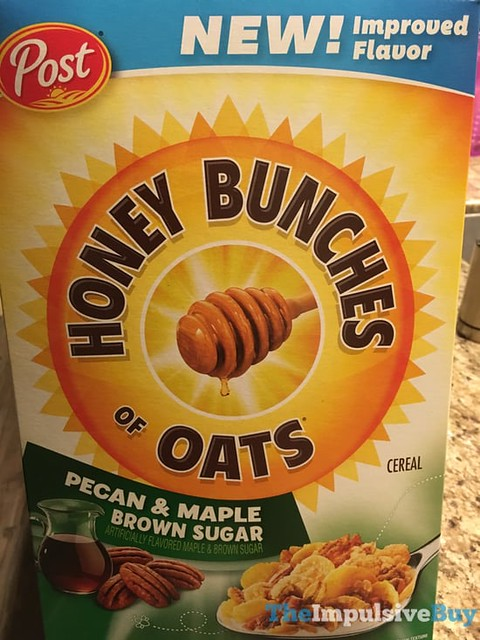 Post Honey Bunches of Oats Pecan & Maple Brown Sugar Cereal
