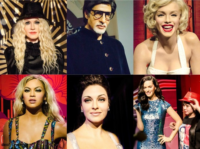 Hollywood and Bollywood stars at Madam Tussauds Singapore