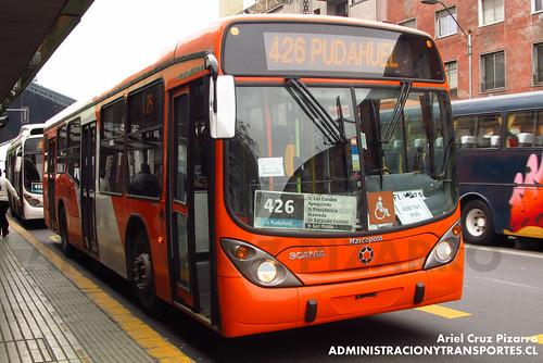Transantiago - Express de Santiago Uno (U4) - Marcopolo Gran Viale / Scania (FLXC29)