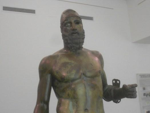 bronzi di Riace, Statua B, probabilmente Anfiarao o Eteocle, museo archeologico nazionale,  Reggio Calabria