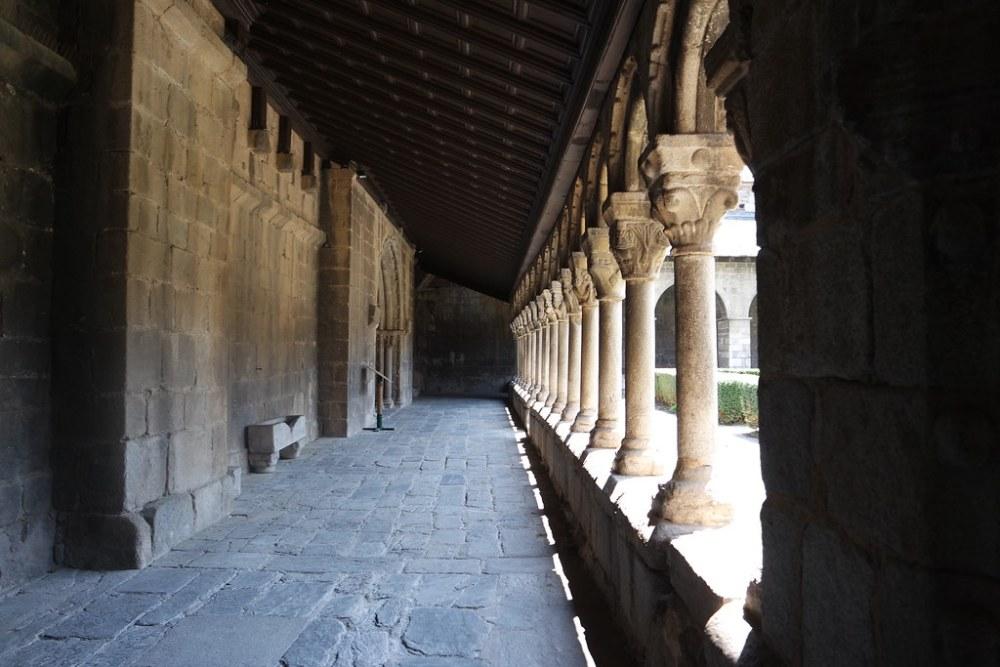 Claustro de la Catedral de Santa María, la Seu d´Urgell