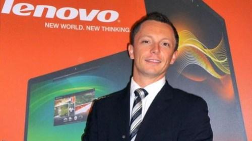 David McQuarrie, vicepresidente y director general de Lenovo para Europa