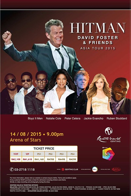 David Foster and Friends in Genting