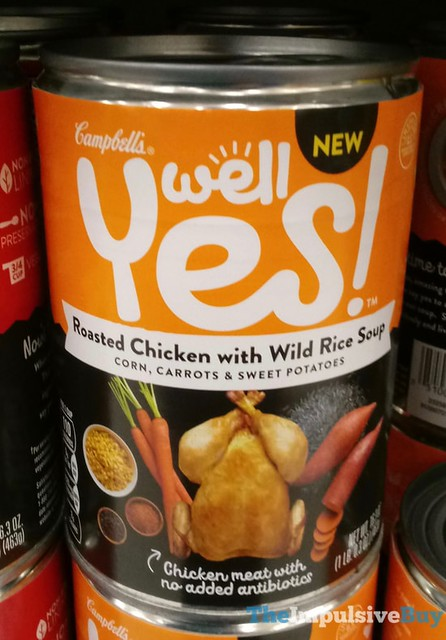 Campbell's Well Yes Roasted Chicken with Wild Rice Soup