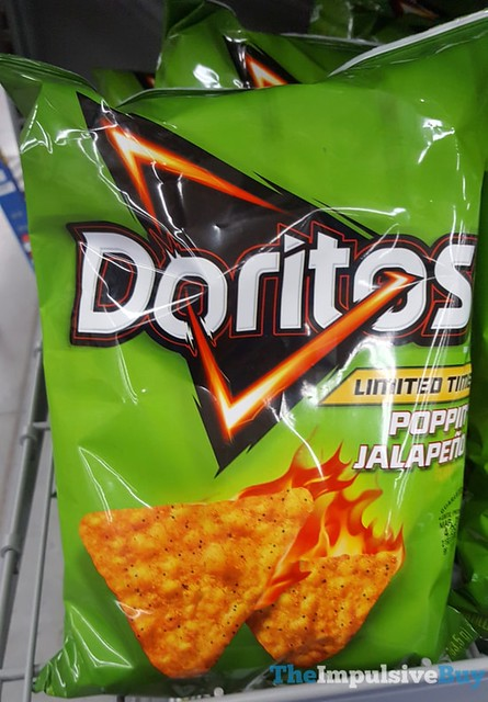 Limited Time Poppin' Jalapeno Doritos