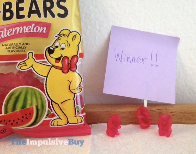 Limited Edition Haribo Watermelon and Cherry Gold-Bears 5