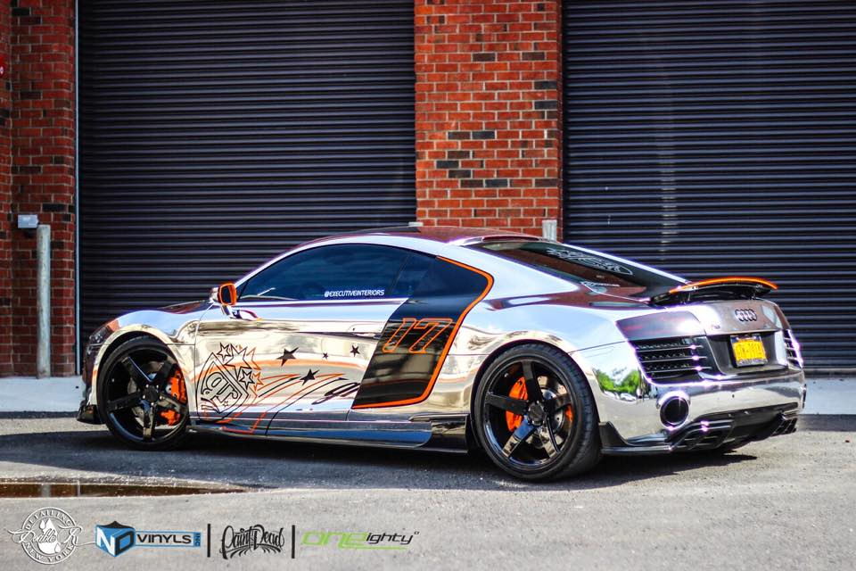 Chrome Gold Rush R8 by NDVinyls! - Paint Is Dead