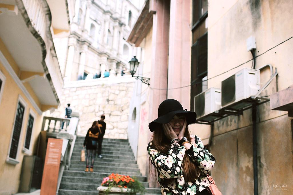 香港澳門的一日生活圈 / 03#那人潮洶湧的大三巴 @ 大熊的旅遊銀鹽週記 :: 痞客邦