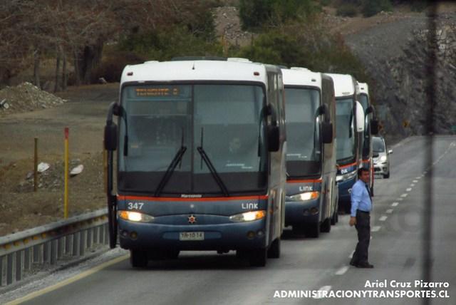 Link Services - Carretera del Cobre - Marcopolo Andare Class / Mercedes Benz (YR1014)