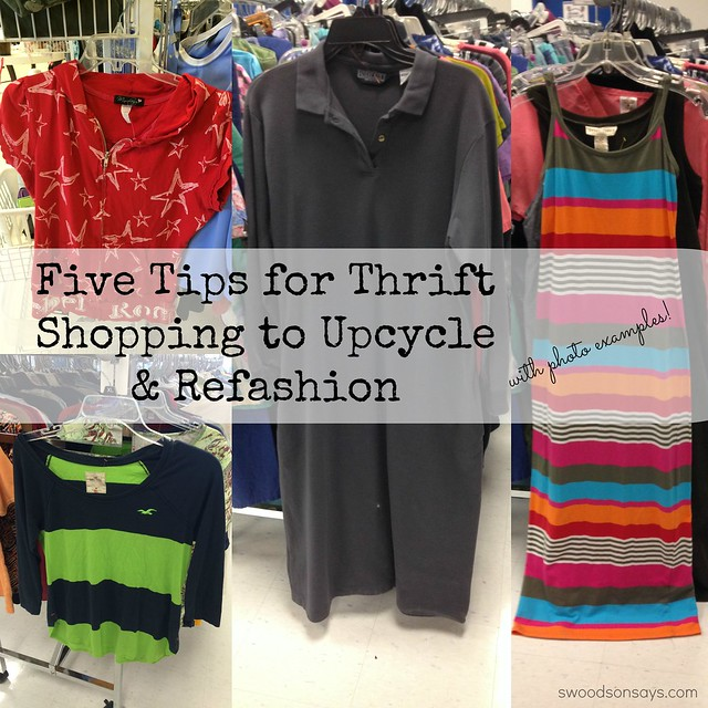 Thrifted dress refashion
