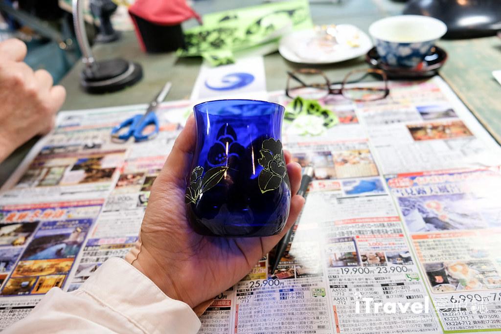 东京手作课程 喷砂玻璃工艺体验 29