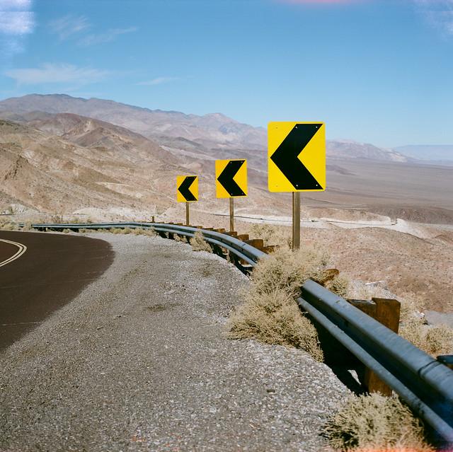 美西公路沙漠景觀