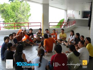 16062003 - FOC.Official.Camp.2003.Dae.1 - Persianz.Playin.IceBreakers - Pic 1