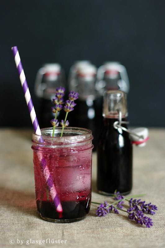 Blaubeer Lavendel Sirup by Glasgeflüster 2 klein
