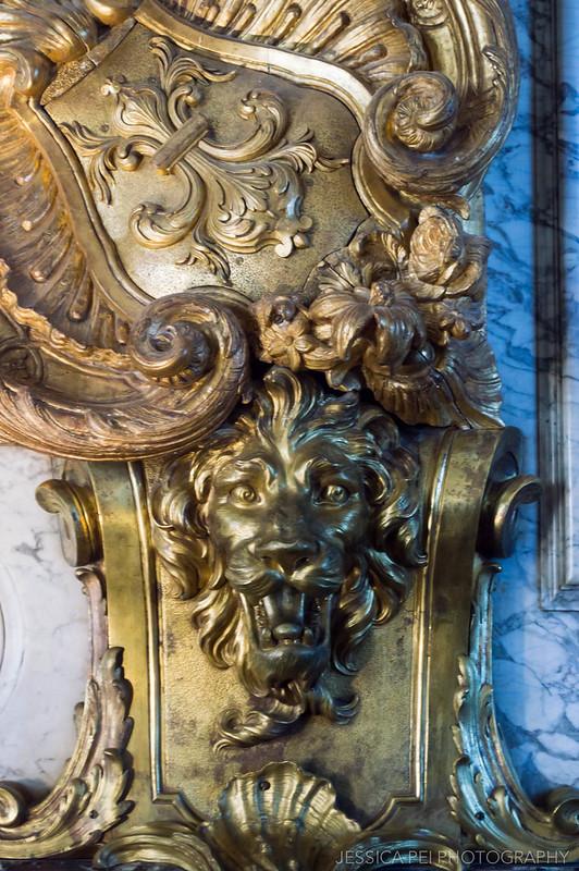 Lion Hercules Salon Versailles