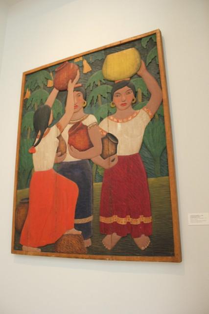 'Carrying Water' by Roberto de la Selva, San Antonio Museum of Art