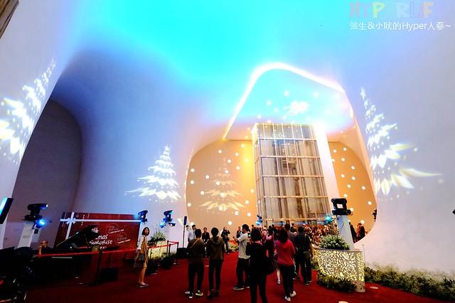 台中歌劇院聖誕燈光秀 (10)